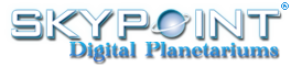 Logo Skypoint Digital Planetariums