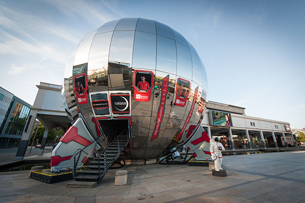 At-Bristol Science Centre planetarium with a Digistar 5 by E&S