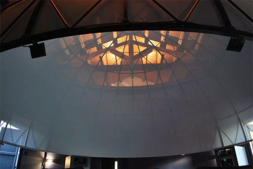 Our installation in Padova (Padua),a SPITZ dome.