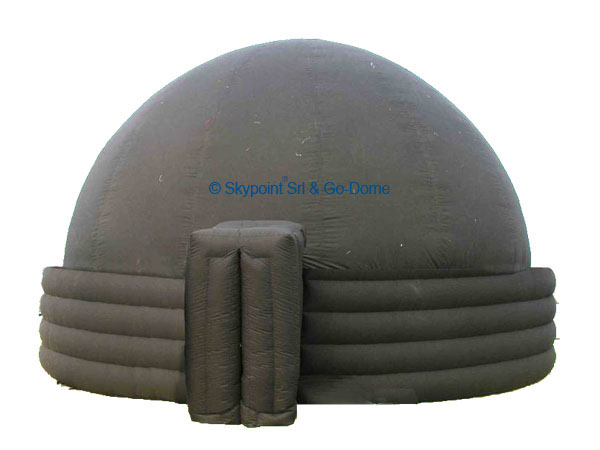 Example of Go-Dome ringed inflatable dome with 5 rings. This is the highest model available in Go-Dome line of inflatable domes.